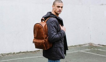 Ona Clifton:  Must-Have Fine Leather Camera Backpack From Italy